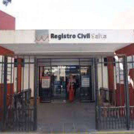 El Registro Civil  habilitó oficinas para trámites de DNI para mayores de edad en las delegaciones de General Güemes, Campo Santo, El Bordo, Quebrachal, El Galpón, Gaona, Las Lajitas y General Pizarro