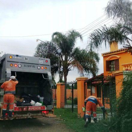 Servicios de limpieza y recolección de residuos en Semana Santa