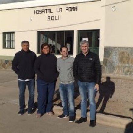 Médicos especialistas atendieron paciente en La Poma