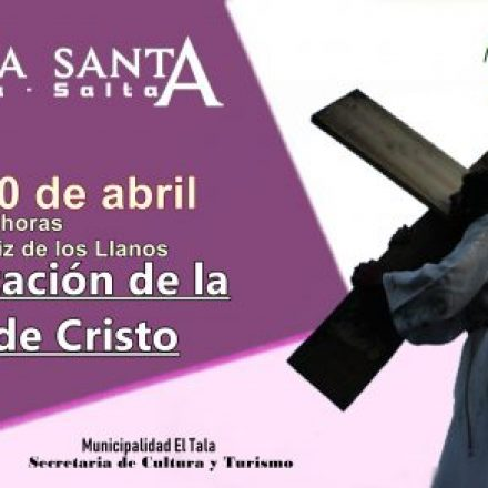 Representación de la Pasión de Cristo en El Tala-Salta