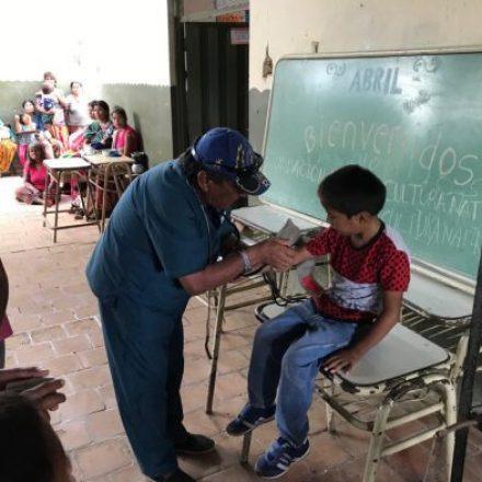 Realizan un nuevo operativo sociosanitario en el Chaco salteño