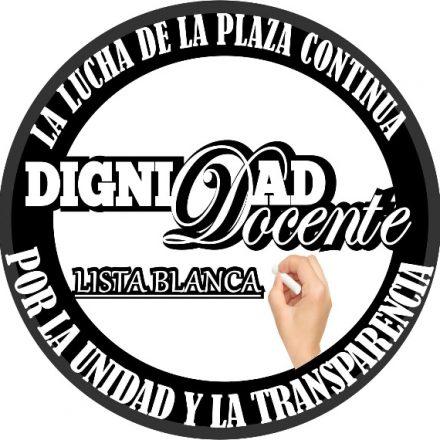 Los Docentes Autoconvocados de la Plaza presentaron la lista «Dignidad Docente» para las elecciones de la Junta Calificadora de Mérito y Disciplina