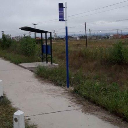 Concluyó la instalación de 6 paradores SAETA sobre la Ruta Provincial 36 que une Rosario de Lerma con Campo Quijano