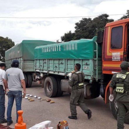 Secuestran más de 50 kilos de cocaína y 25 kilos de marihuana que se proveían a bunkers de Córdoba