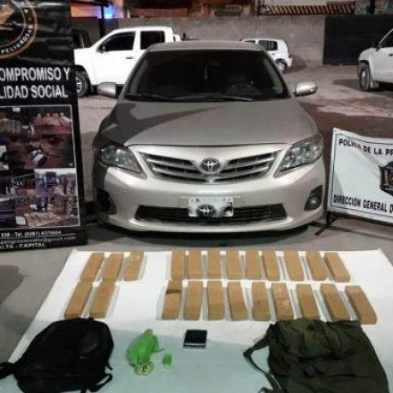 Duro golpe al narcotráfico en un operativo preventivo de seguridad