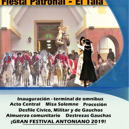 Fiestas patronales en honor a San Antonio en El Tala – Salta