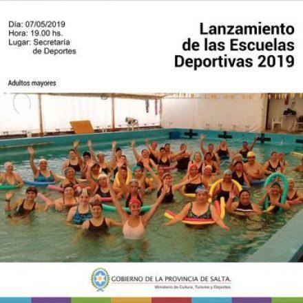 Lanzamiento de las Escuelas Deportivas 2019