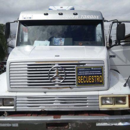 Fue a realizar la verificación de un camión y tenía el motor adulterado