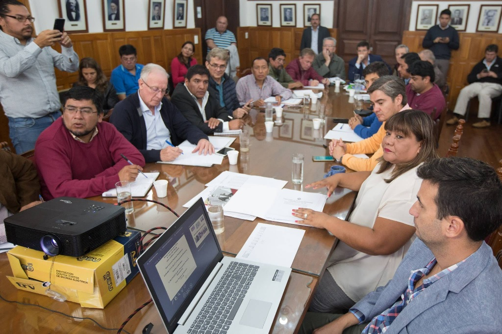 Edith Cruz explicó a Diputados la política alimentaria del Gobierno de Salta