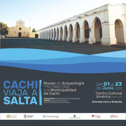 """Exposición del Museo de Arqueología """"Pío Pablo Díaz"""" y la Municipalidad de Cachi"""