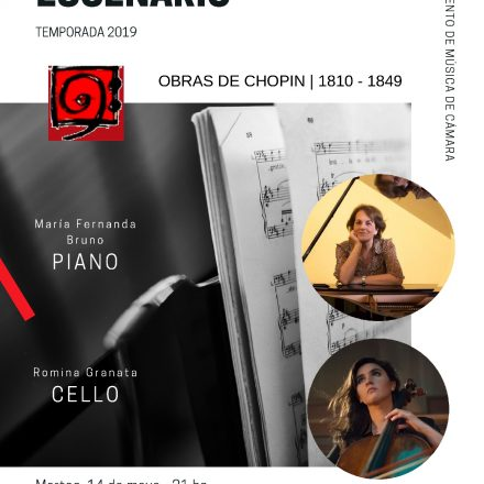 Concierto de Música de Cámara, Frederic Chopin en Todos al Escenario con entrada libre