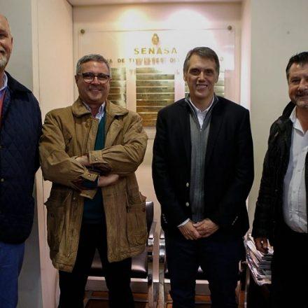 Kosiner acompañó a productores salteños en SENASA