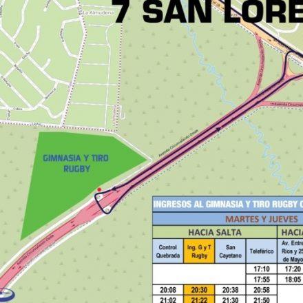 Desde el martes SAETA llegará a la sede Altos de Medeiros de Gimnasia y Tiro