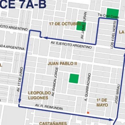 Desde mañana SAETA incorporará el nuevo enlace a barrios de zona norte, 1 de Mayo, Unión, 17 de Octubre y Juan Pablo II de Capital