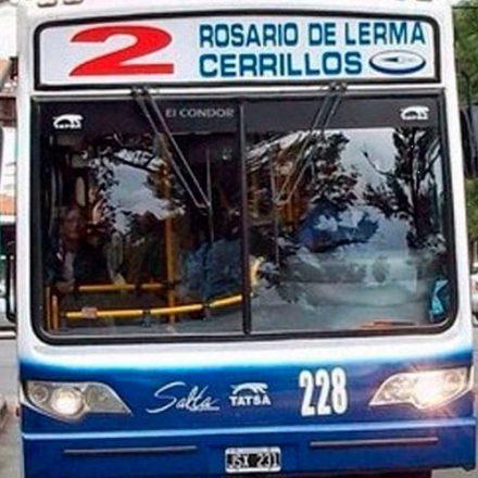 Desde este lunes SAETA incorpora otro coche a la Línea 2 a Rosario de Lerma