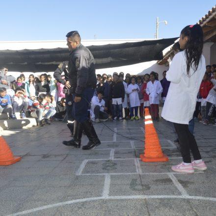 Estudiantes de Cachi y alrededores participaron de talleres preventivos de seguridad