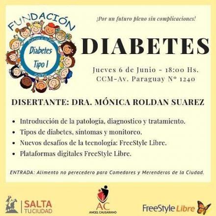 Se realizará una Charla Taller sobre Diabetes