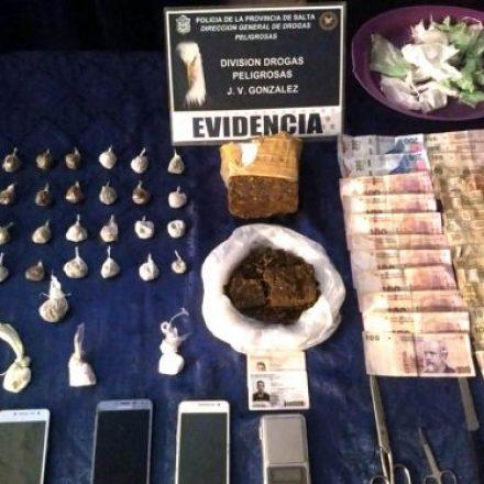 Intenso trabajo contra el narcotráfico durante el fin de semana