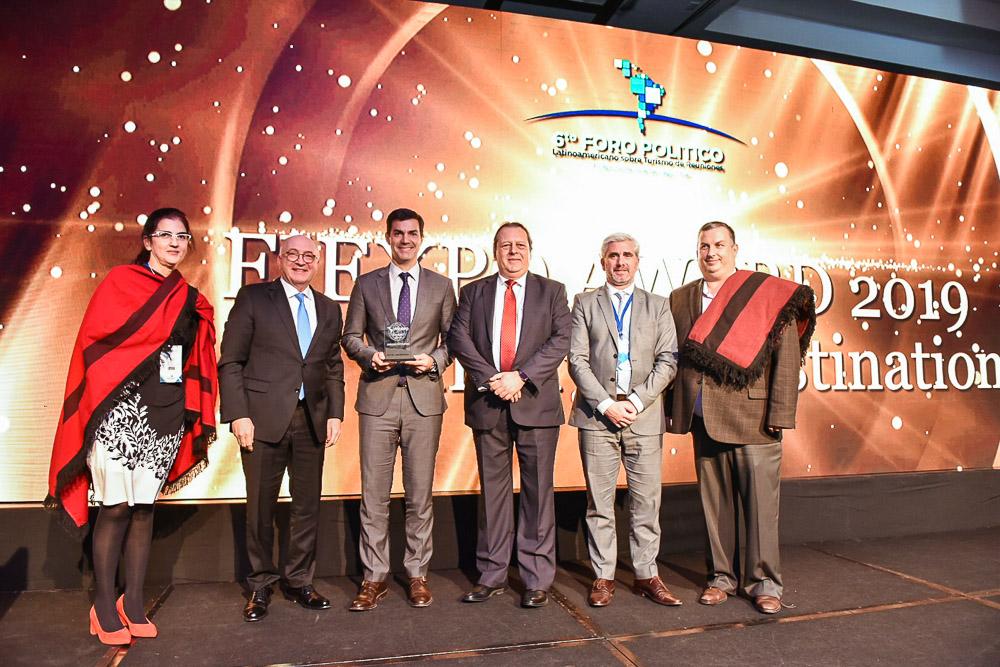 Salta recibió el premio al mejor destino emergente de Latinoamérica