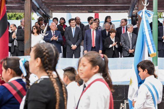 El gobernador Urtubey acompañó al pueblo de Tartagal en el 95 aniversario de su fundación