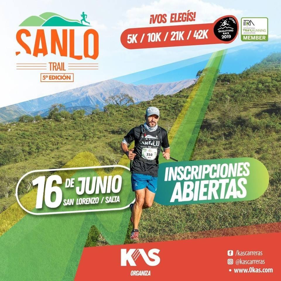 Presentarán una nueva edición de la carrera Sanlo Trail