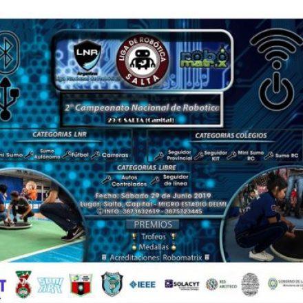 Se realizará en Salta el Segundo Campeonato Nacional de Robótica