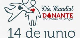 Celebran hoy el Día Mundial del Donante Voluntario de Sangre