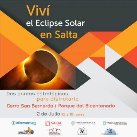 Salta vivirá el eclipse solar con múltiples actividades