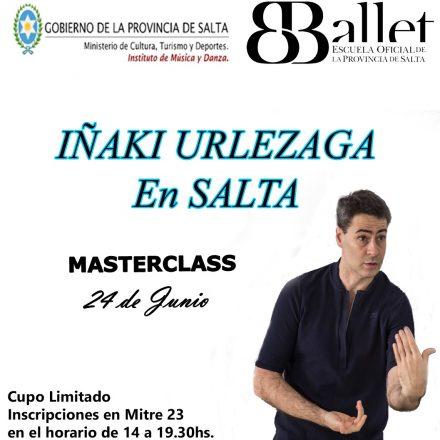 Iñaki Urlezaga en Salta