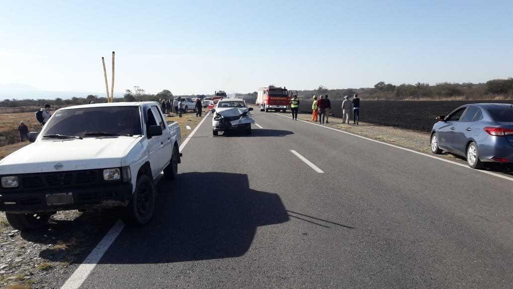 Accidente vial con víctimas fatales