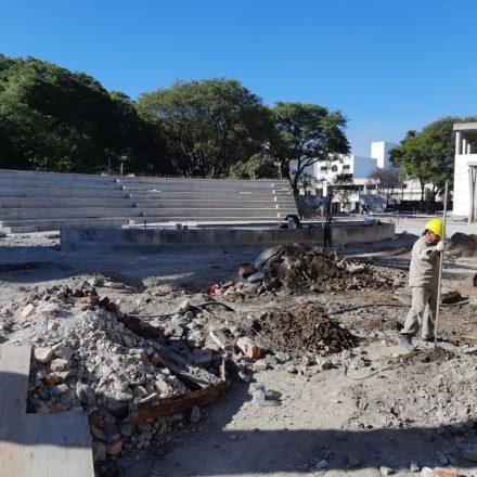 Avanzan las obras en La Usina Cultural de Salta