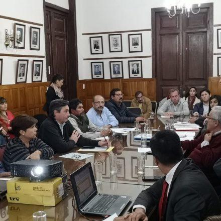 Diputados recibieron a los gerentes de los hospitales San Bernardo y Materno Infantil