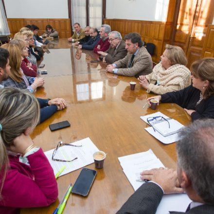 Docentes de Educación Religiosa se reunieron con Diputados