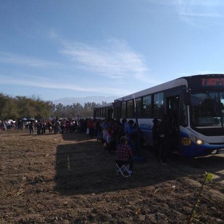 Exitoso operativo especial de SAETA por la Fiesta chica de Sumalao