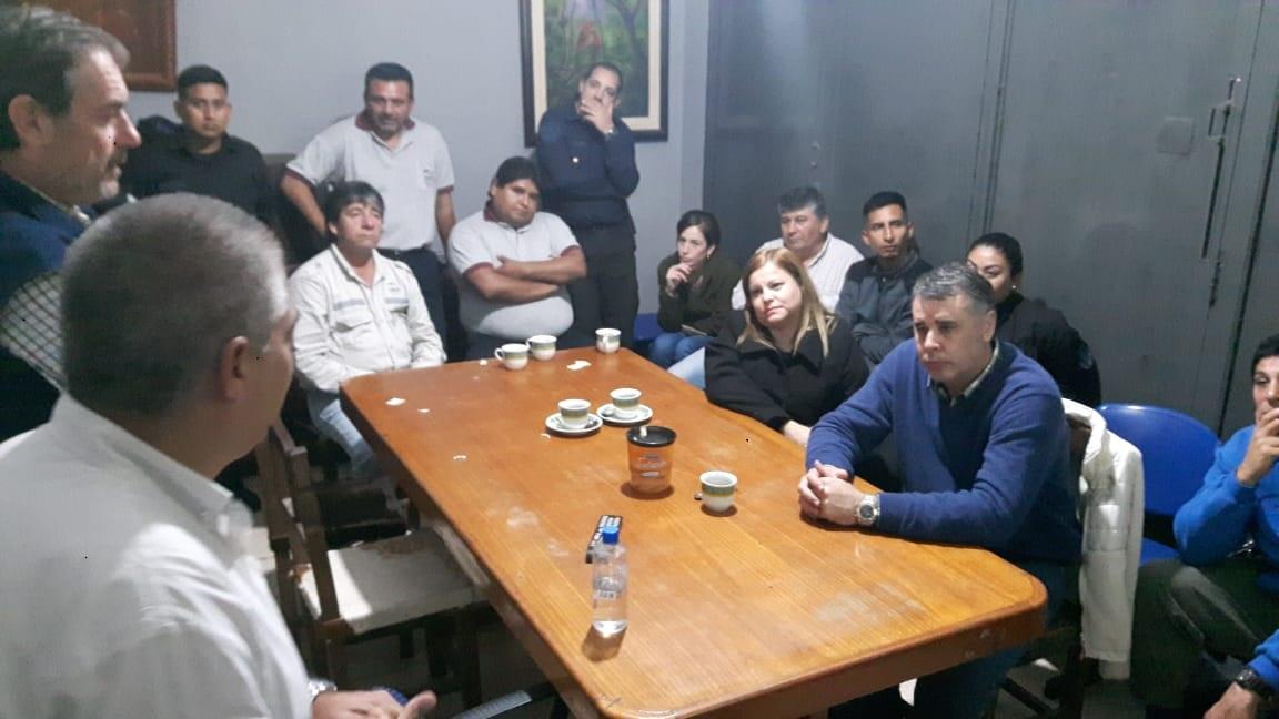 Tareas conjuntas de control y fiscalización en la zona fronteriza de Salvador Mazza