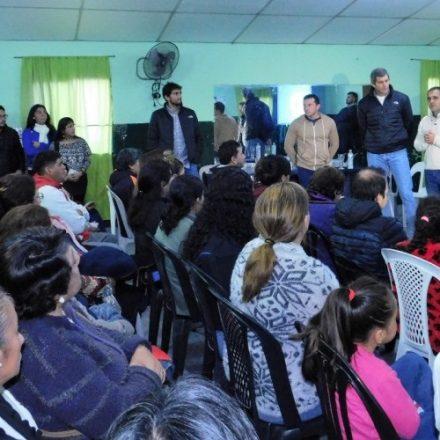 Yarade y Juri presentaron a vecinos de Limache la propuesta interlineal que los conectará con el Hospital Papa Francisco
