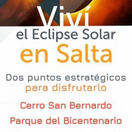 Llegó el día, hoy disfrutá del eclipse solar en Salta