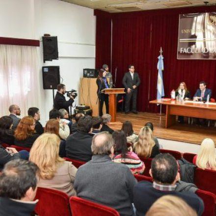 En Oberá, Urtubey visitó la Facultad de Ingeniería de la Universidad Nacional de Misiones