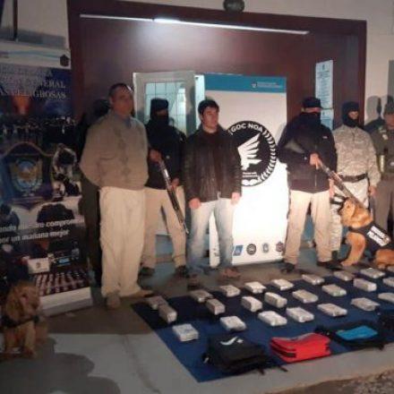 El GOCNOA desarticuló a una importante organización narcocriminal