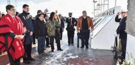 En Río Grande, Urtubey rindió homenaje a héroes de Malvinas