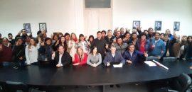 Dirigentes justicialistas dieron su apoyo a la precandidatura de Juan Manuel Urtubey