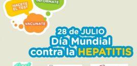 Realizarán actividades preventivas por el Día Mundial contra la Hepatitis