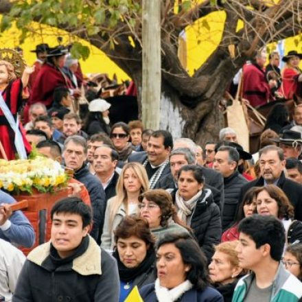 Isa acompañó al pueblo de El Galpón en sus fiestas patronales