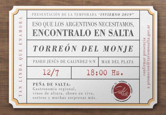 Salta presentará en Mar del Plata su oferta turística para estas vacaciones