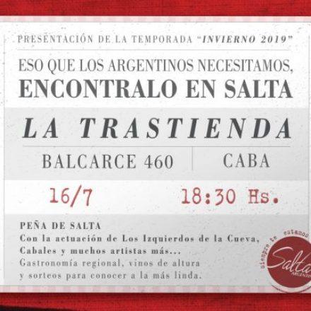 Salta promocionará en Buenos Aires su oferta turística para las vacaciones de invierno
