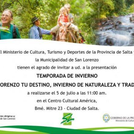 San Lorenzo presentará mañana su oferta turística para las vacaciones de invierno