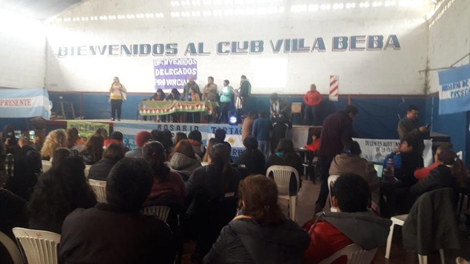 Tras la Asamblea Docente en Rosario de la Frontera, los docentes vuelven al paro por tiempo indeterminado