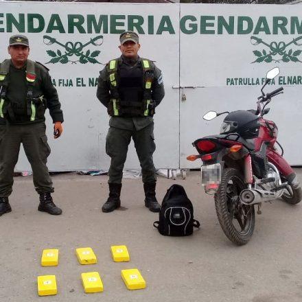 Detienen a un hombre con más de 6 kilos de cocaína en el interior de una mochila