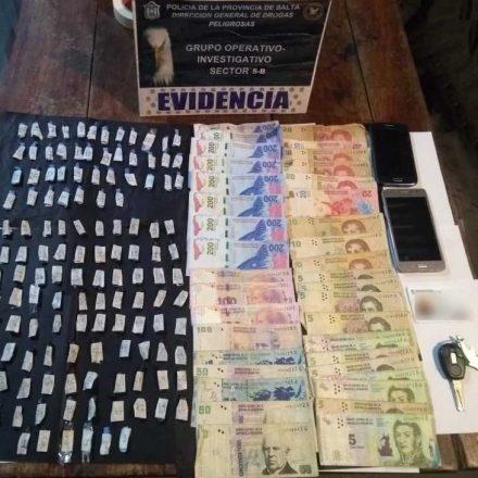 Detienen a un narco-remis que hacía entregas de drogas
