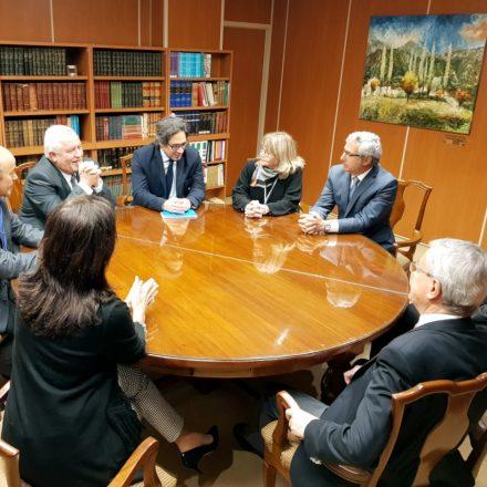 La Corte de Justicia de Salta recibió al ministro Garavano